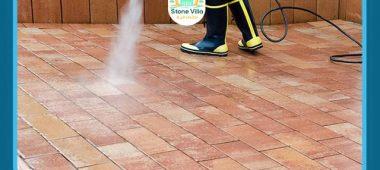 تنظيف الانترلوك من الاسمنت